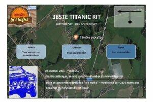 Inschrijvingen Titanic Rit Merksplas